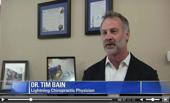 Dr. Bain at B3 Medical is the Official Chiropractor for the Tampa Bay Lightning
