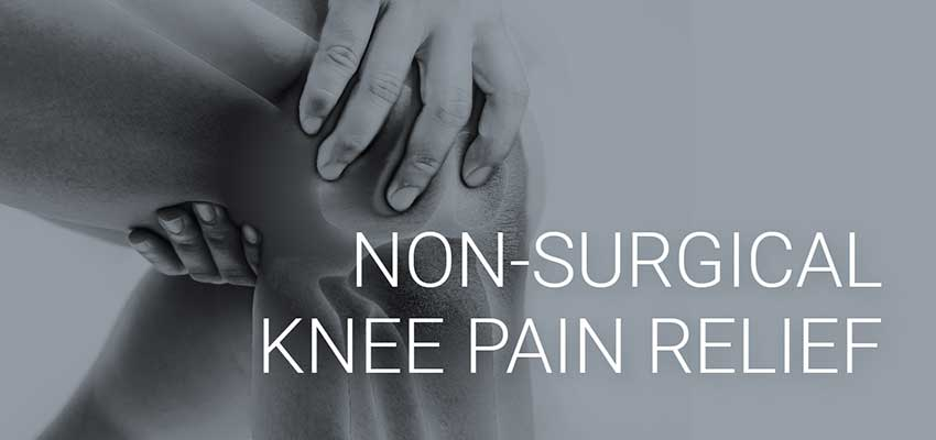 non-surgical knee pain relief in tampa