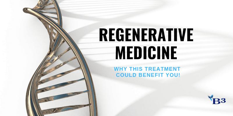 Conditions Good for Regenerative Medicine